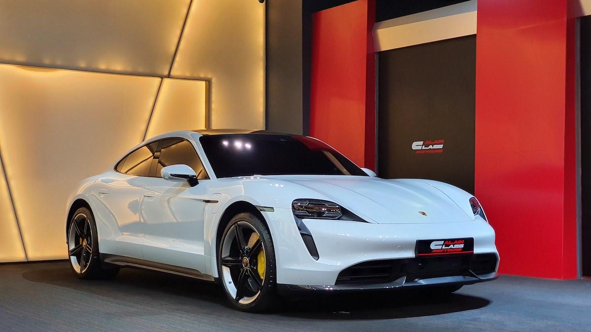 Alain Class Motors Porsche Taycan Turbo S