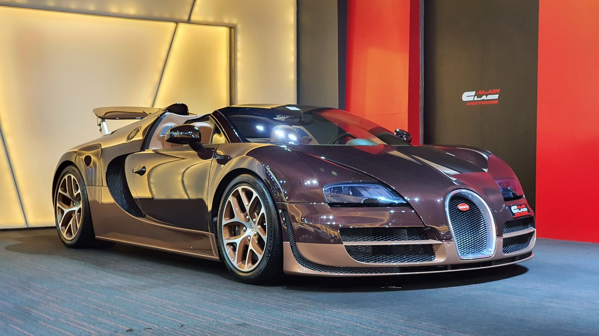Alain Class Motors Bugatti Veyron Grand Sport Vitesse