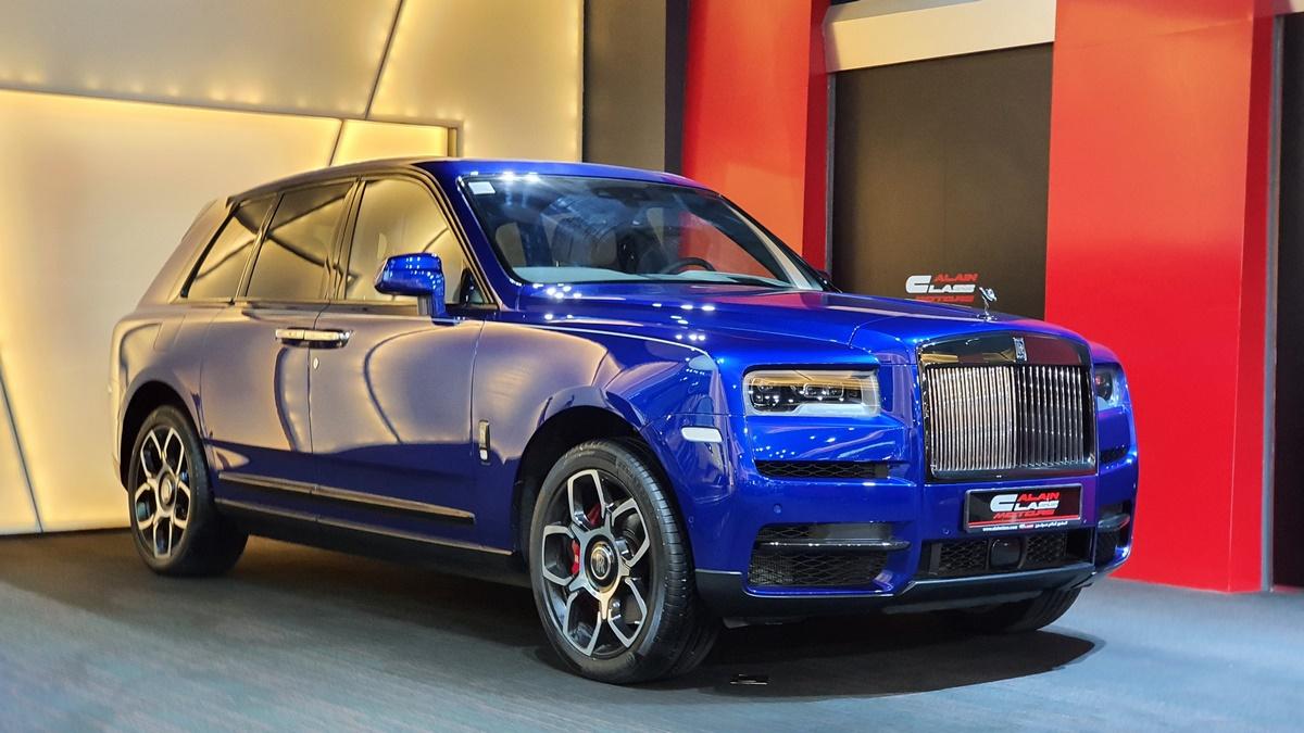 Rolls Royce Cullinan Black Badge
