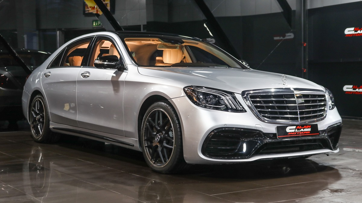 Mercedes-Benz S500 with S63 Body Kit