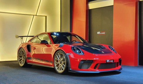 Porsche 911 GT3 RS Weissach Package