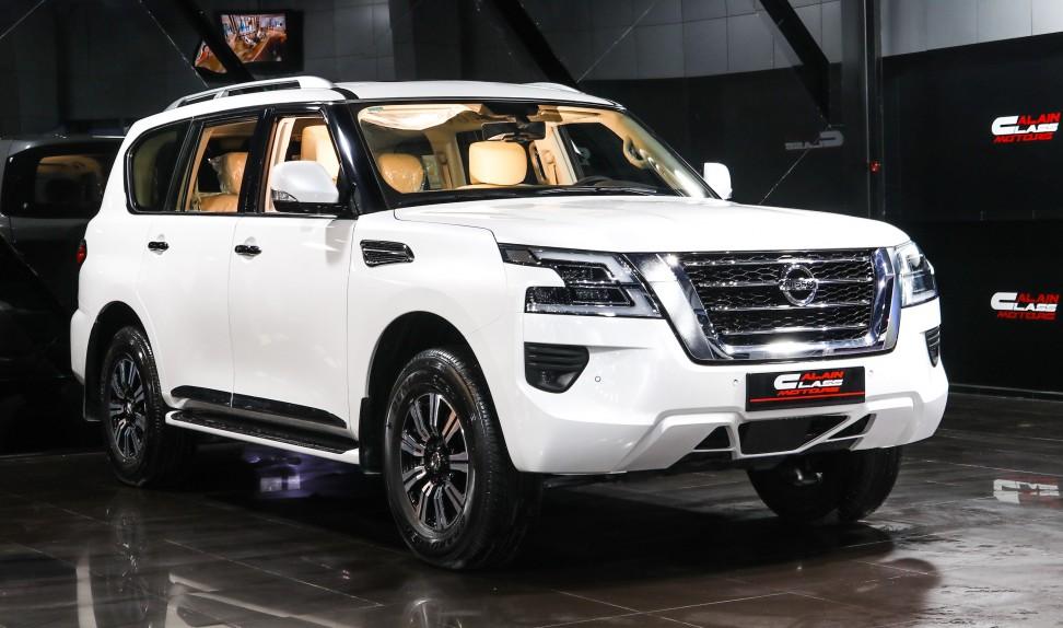 Nissan Patrol SE Titanium