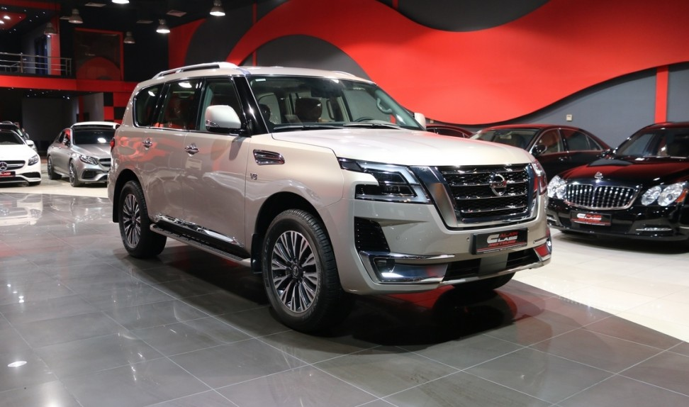 Nissan Patrol Titanium