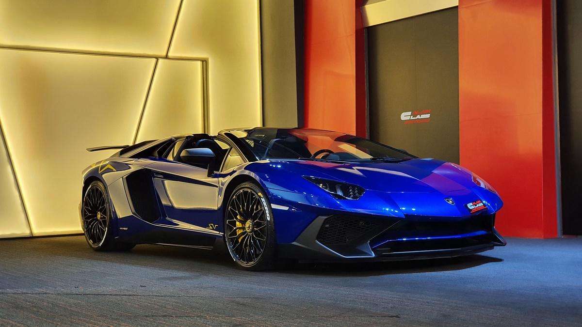 Lamborghini Aventador SV Roadster – 1 of 500