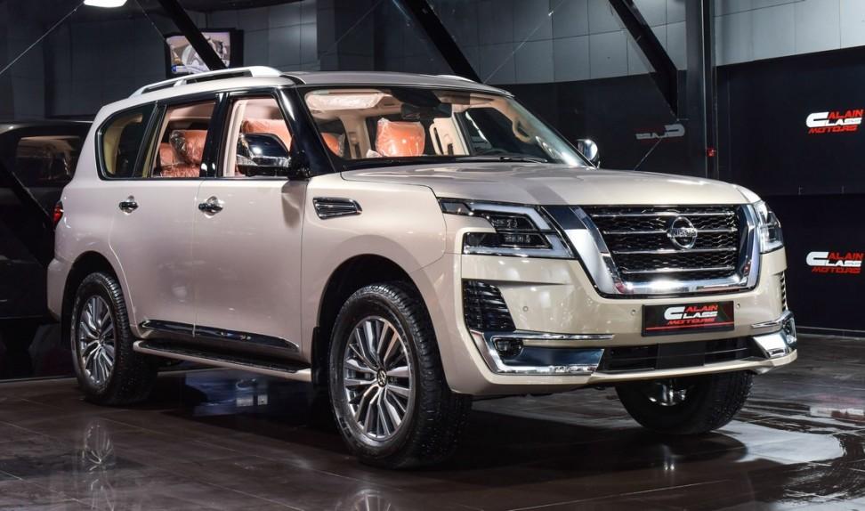 Nissan Patrol SE Platinum City