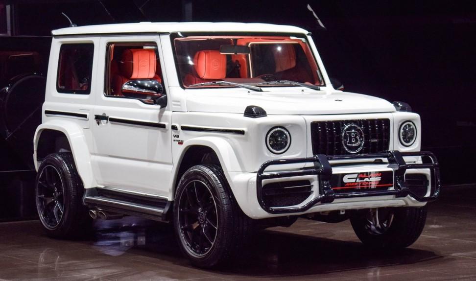Suzuki Jimny Turbo With Brabus Kit