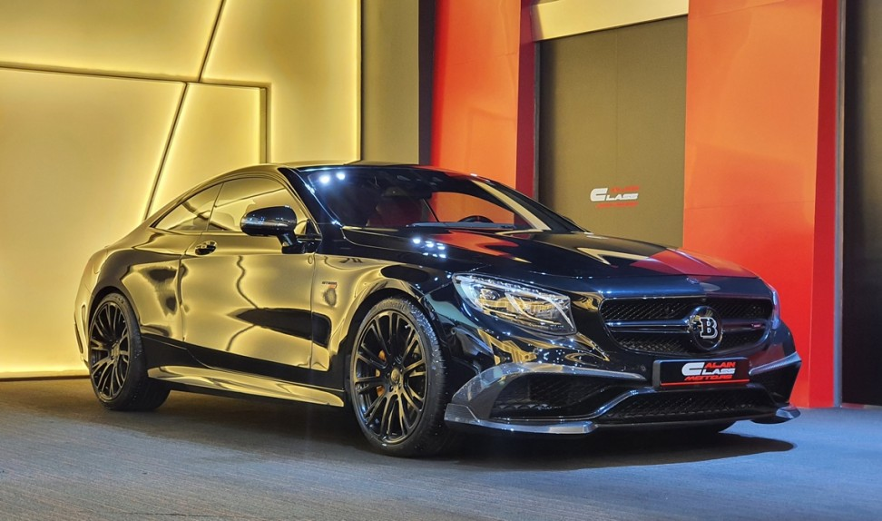 Mercedes-Benz S63 Coupe Brabus 850