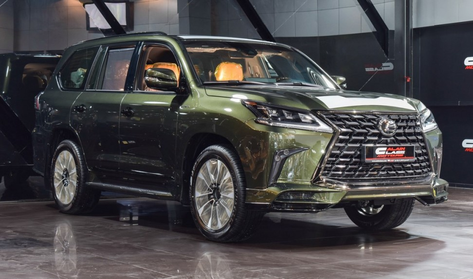 Lexus LX570 Kuro Black Edition S