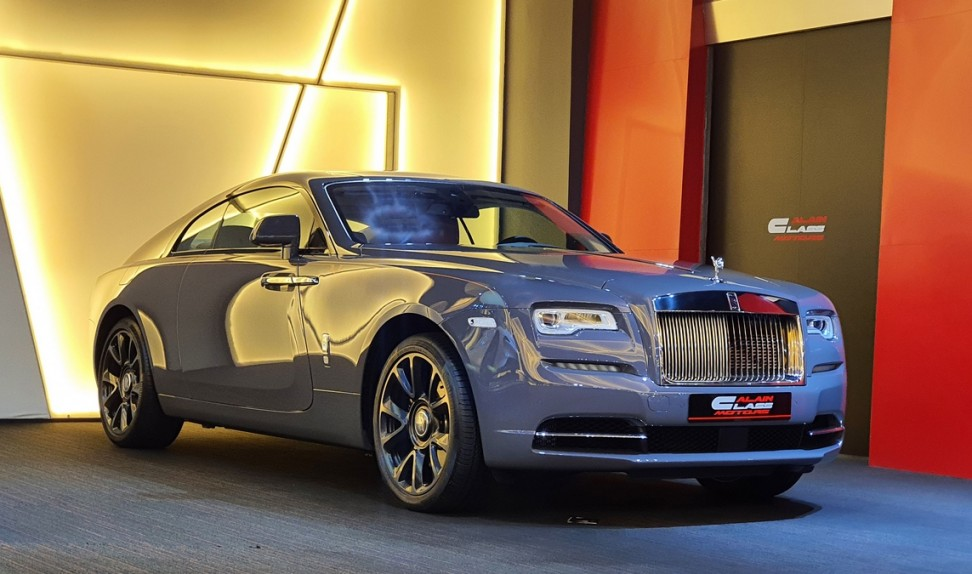 Rolls Royce Wraith Luminary Collection – 1 of 55