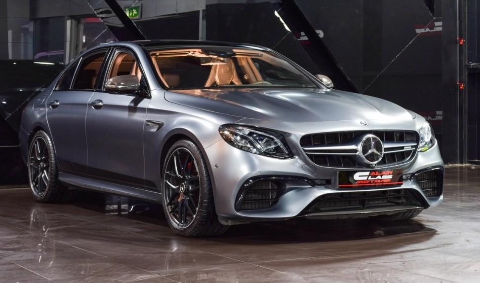 Mercedes-Benz E63S 4Matic