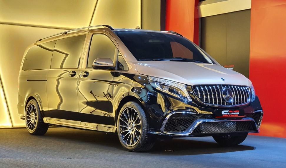Mercedes-Benz V250 by Vline Design