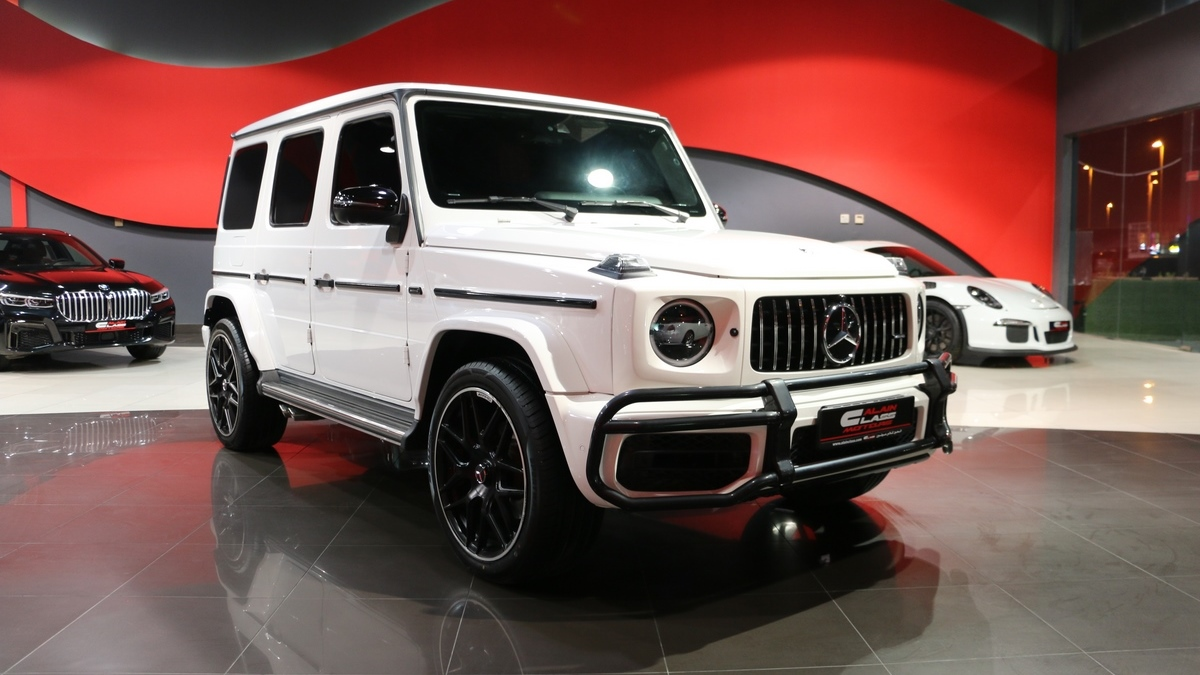 Mercedes-Benz G500 with 63 Kit