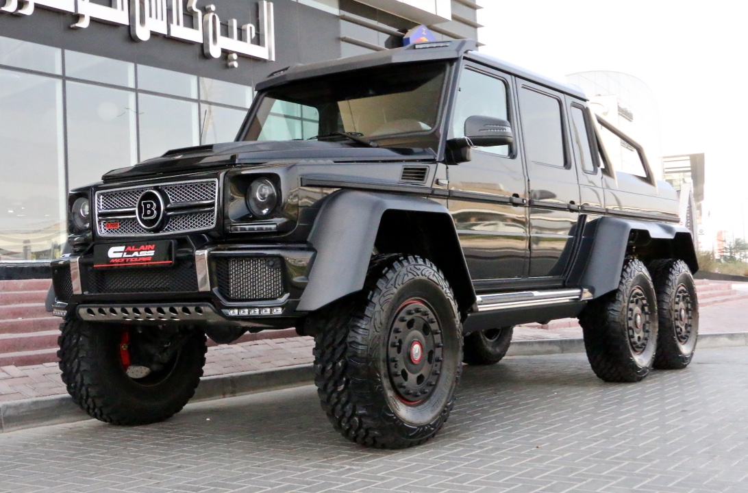 Alain Class Motors Mercedes Benz G 63 Brabus 6x6 700 Amg